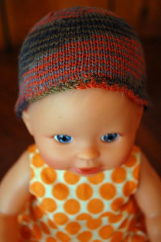 Baby's new hat.