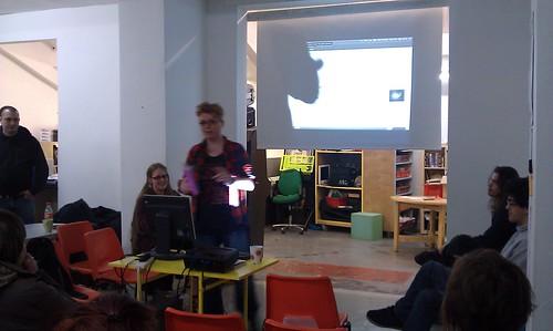 Charlie talking about Ubuntu