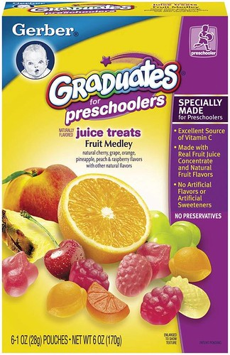 Photo of Gerber Graduates Fruit Juice Treats