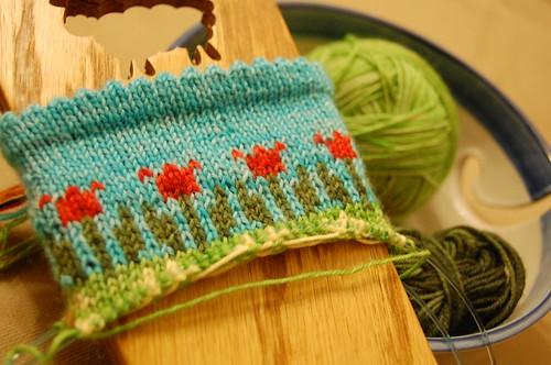 Longing for Spring socks