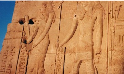 Relief sculpture at Abydos