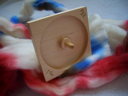 Michael Williams Bottom Whorl Spindle