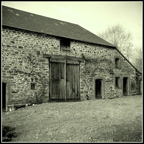Grange domestique, la Gardette, Creuse 23, France