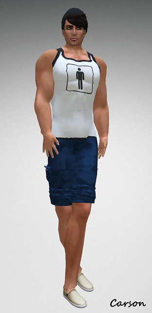 U.December Atmosphere with  cap [hate this] basics - Icon MALE Balani's Cargo Shorts BLUE  Vendor  $1L