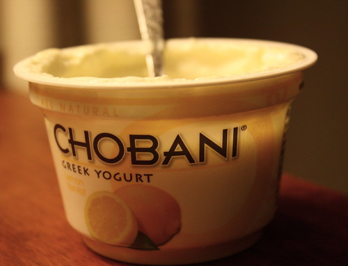 Chobani greek yogurt lemon