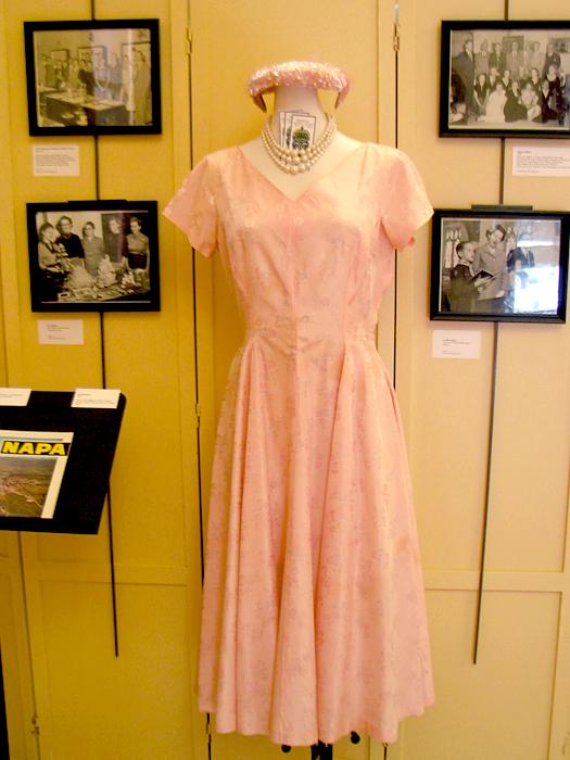 Vintage Dress, Hat & Photos