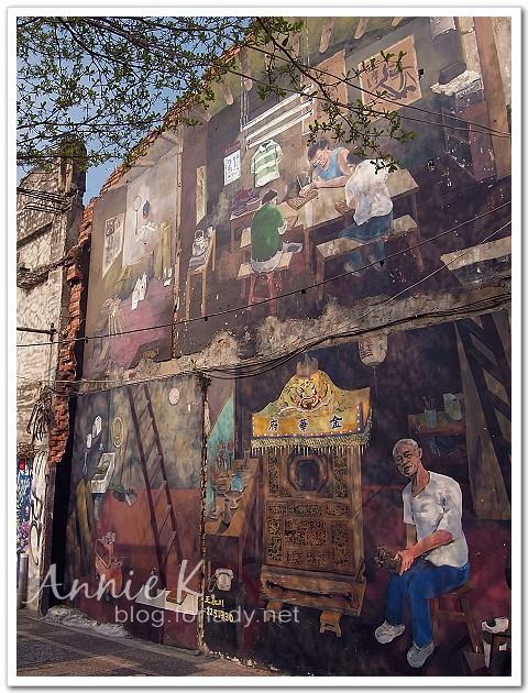 神農街神轎壁畫