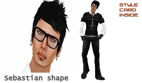 Sebastian shape by CosaNostraSL