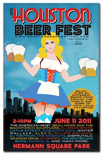 Houston Beer Festival Poster