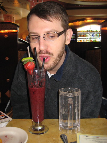 Craig and berry smoothie