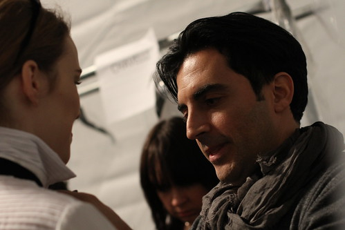 Yigal Azrouel Fall 2011- Backstage (16)