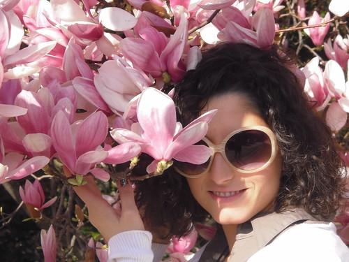 io e la mia magnolia