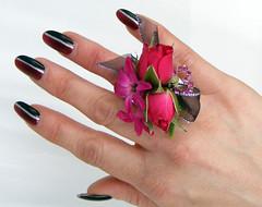 Prom Flower Ring