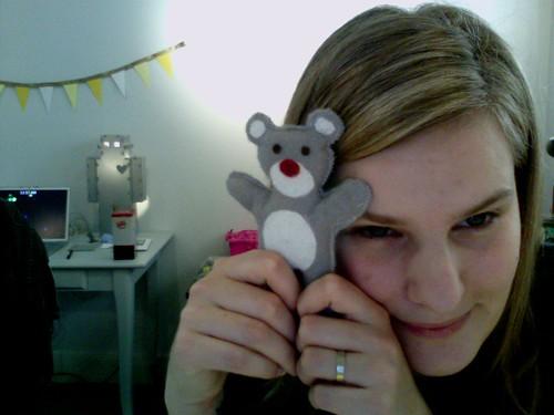 Symmie Bear & I