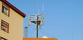 Antenas cercanas a viviendas
