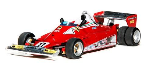 Mattel 312 T2 test 6 ruote 1977
