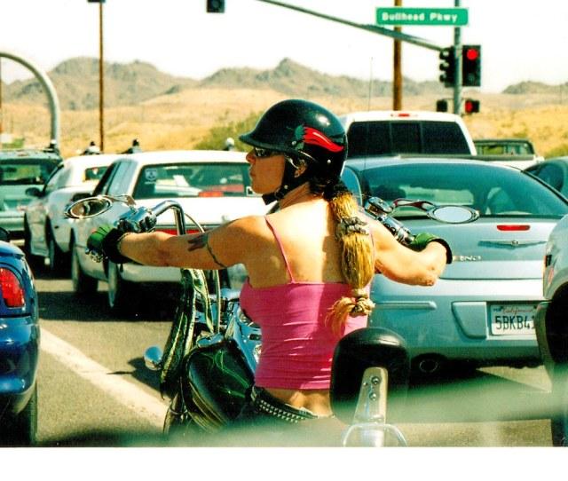 Bikerbabe Back Bullheadcity Az Shot By Newman Tags Blonde