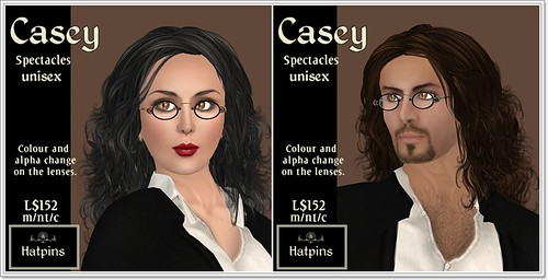 Hatpins - Casey Spectacles