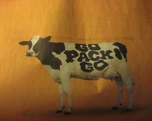 go pack go cow