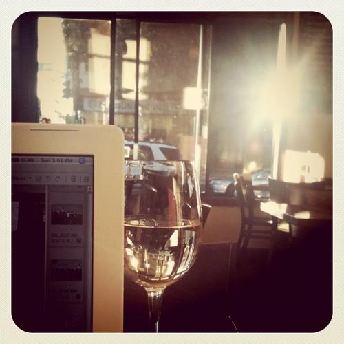 wine + sunshine