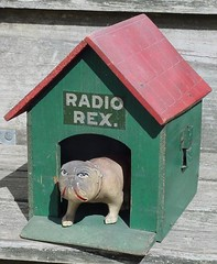 Radio Rex from 1920s - The first speech recognition machine