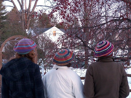Hats A B and C - back