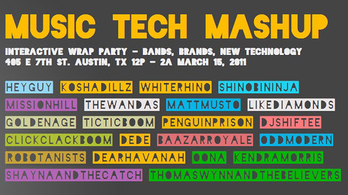 ROBOTANISTS @ Music Tech Mashup SXSW Party / 3.15.2011