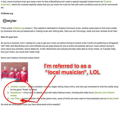 Discovering or Sharing New Music Online | Infocomm 123 – Ask. Learn. Explore | Blog
