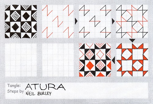 Atura - tangle pattern by perfectly4med