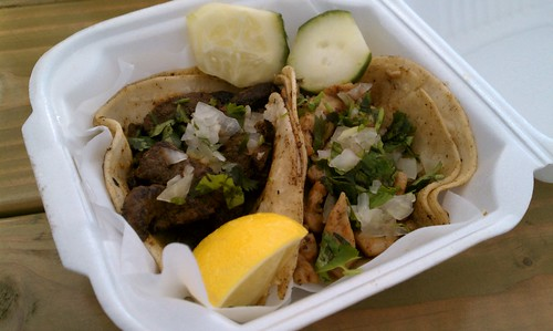Tacos from El Sultan