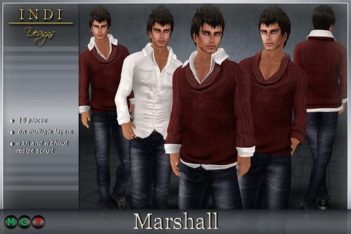 Marshall-red