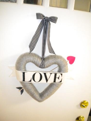 Bow Arrow Valentines Day Wreath Tutorial