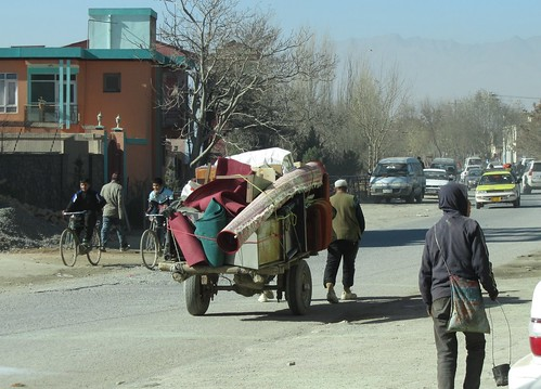 Moving day Kabul style