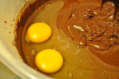 Add eggs...