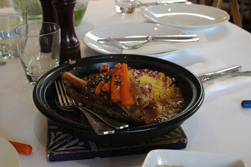 Lamb Shank, Prunes, Carrots Tagine