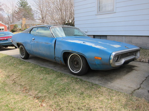 1972 Plymouth Satellite coupe