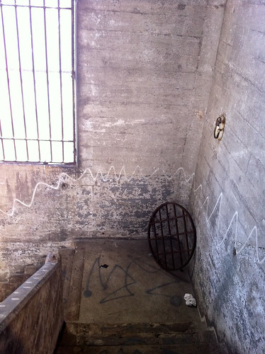 Secret Stairway under Burrard Bridge