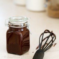 Bourbon Chocolate Sauce