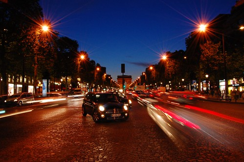 Champs-Elysees at Dusk