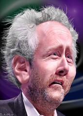 Andrew Breitbart - Caricature