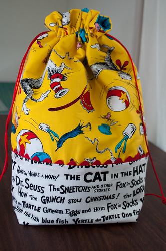 Bev's Cat in the Hat Bag
