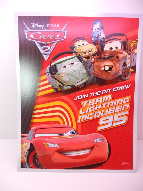 disney cars 2 kmart collectors event june 25 2011 extras (3)