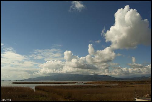 Nubes sobre el delta