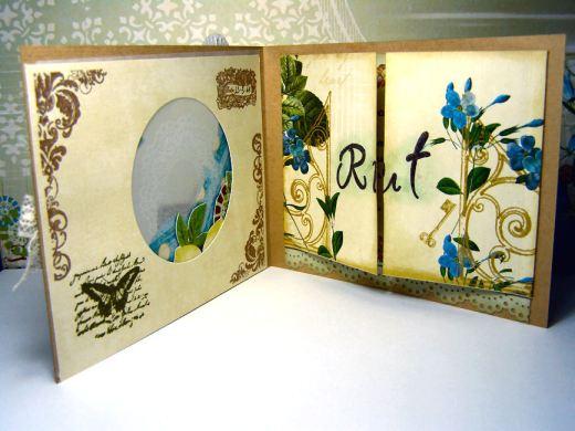 Interior tarjeta para Rut
