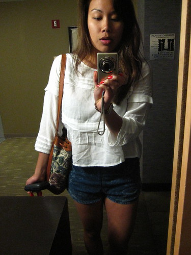 H&M Conscious Collection Shirt, AA shorts