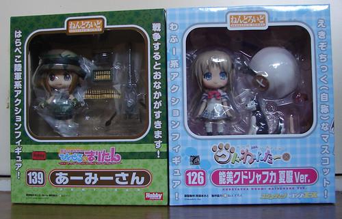 Nendoroid Army-san and Noumi Kudryavka
