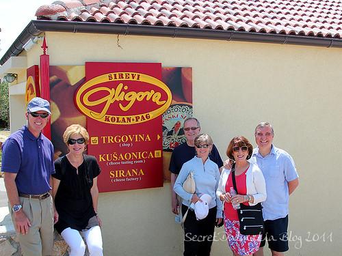 In front of Gligora