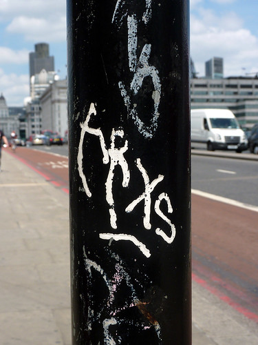 Tags in London 2011