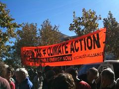 Socialist alliance banner