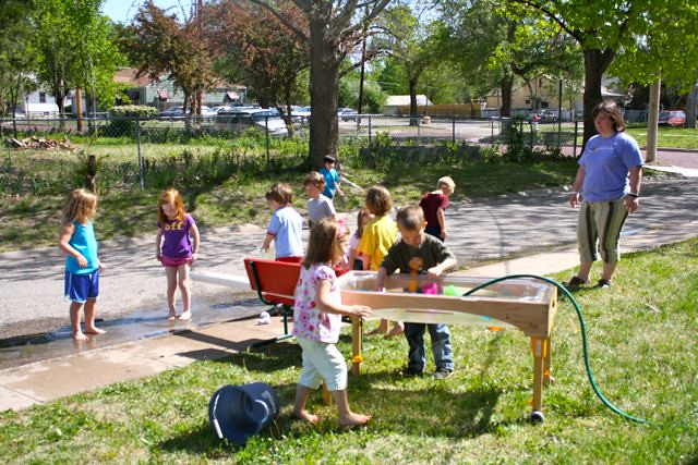 last day of school water play! - 01